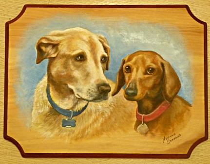 Dog Portraits, Pet Portrait, Mural Mural On The Wall, Inc.