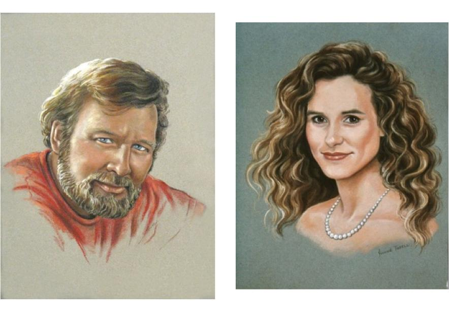 Pastel Portrait, Portrait Artist, Mural Mural On The Wall Inc.