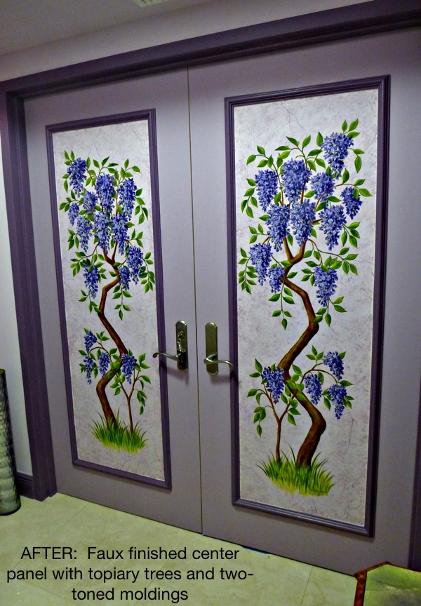 Painted Condo Doors, Mural Mural On The Wall Inc.