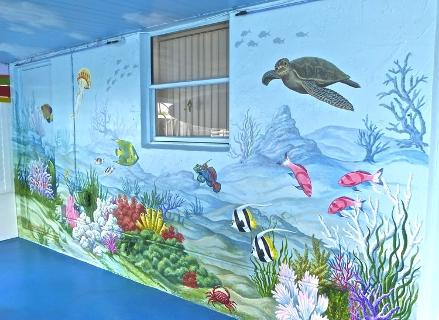 Under the Sea Mural,  Mural Mural On The Wall Inc.