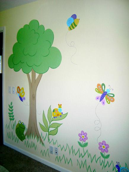 Mural for kids by Mural Mural On The Wall, Inc.