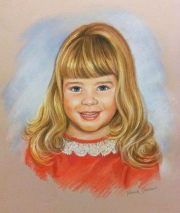 Pastel Portraits of Children, Mural Mural On The Wall Inc.