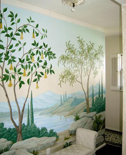 Image of Landscape Mural, Mural Mural On The Wall, Inc.