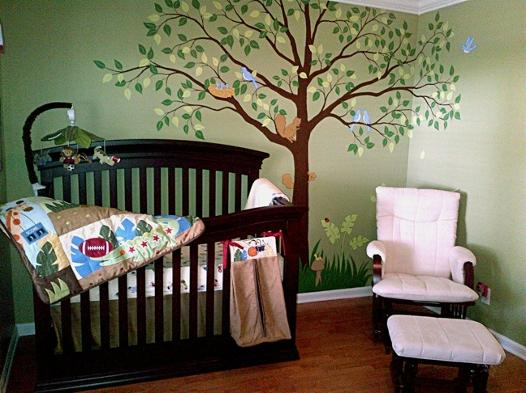 Tree Mural for Children by Mural Mural On The Wall, Inc.